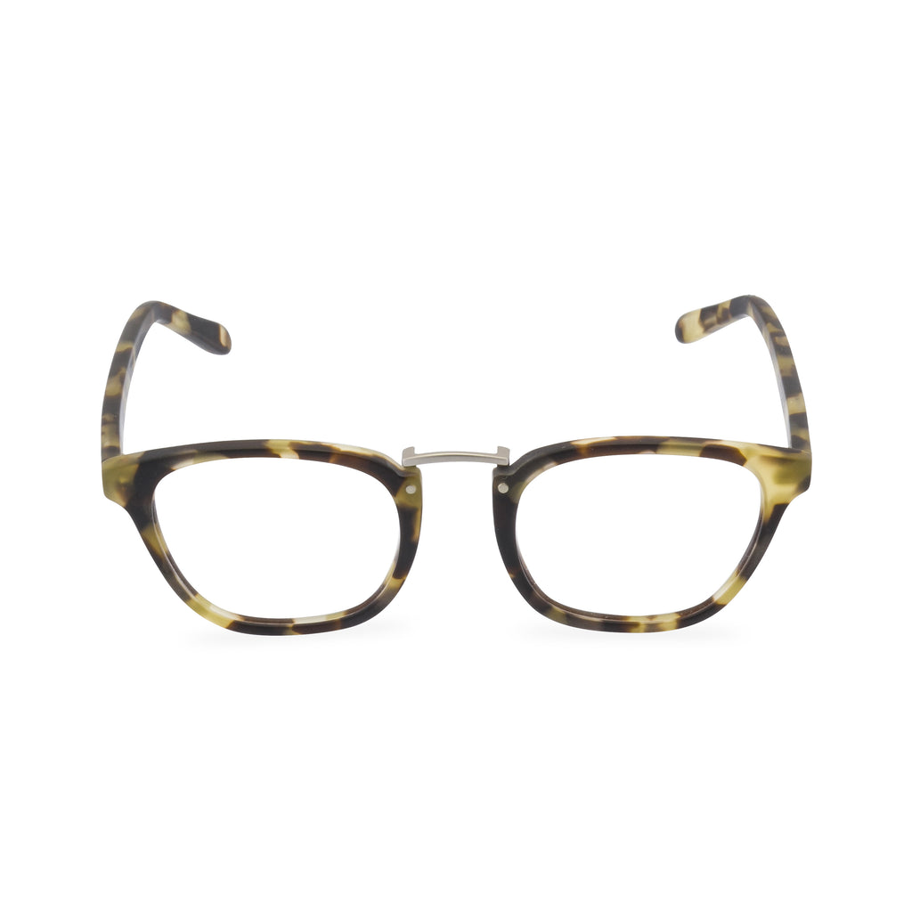 Theo Square Glasses - Vintage Tortiseshell