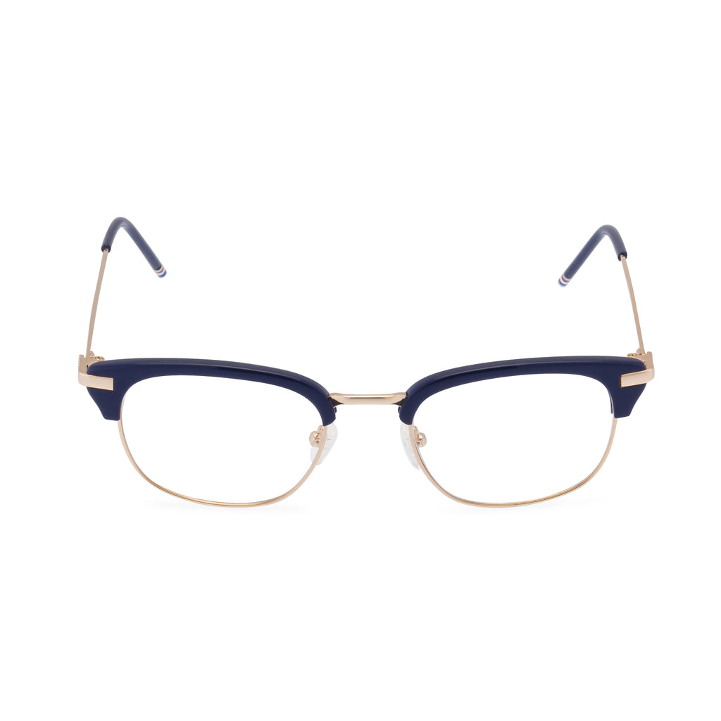 Thom Brown 707 - Round Glasses Navy