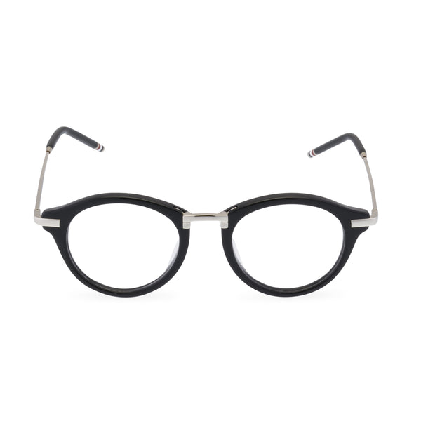 Thom Brown 703 - Round Glasses Black / Silver