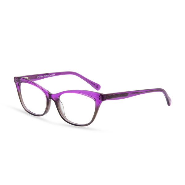 Violet Cat Eye Glasses