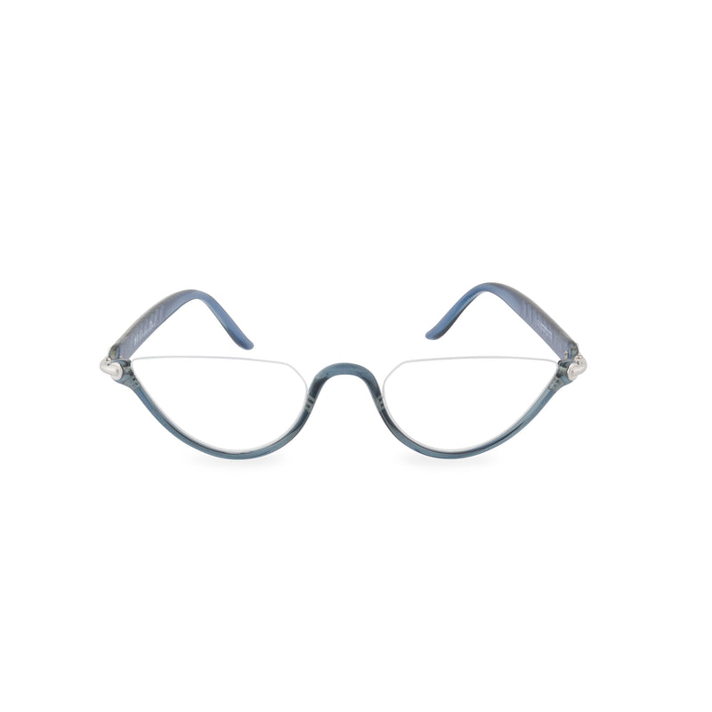 Dior Crystal Moon Half Rim Glasses - Blue Crystal