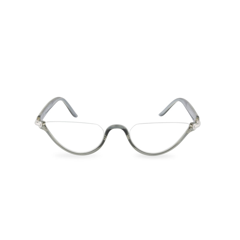 Dior Crystal Moon Half Rim Glasses - Grey Crystal