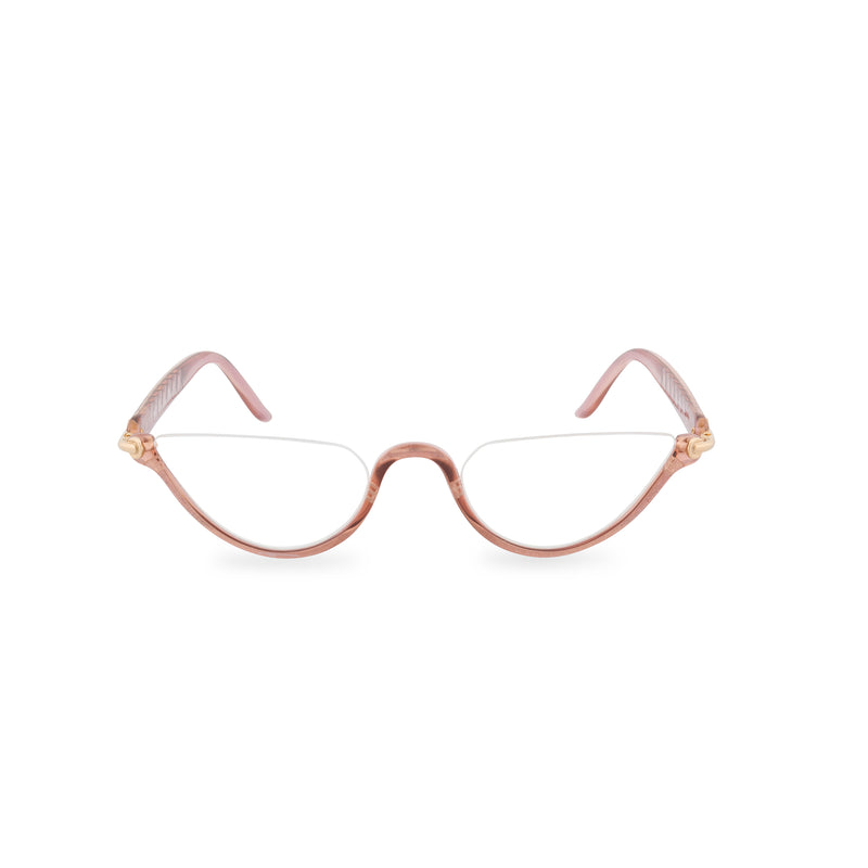 Dior Crystal Moon Half Rim Glasses - Rose Crystal