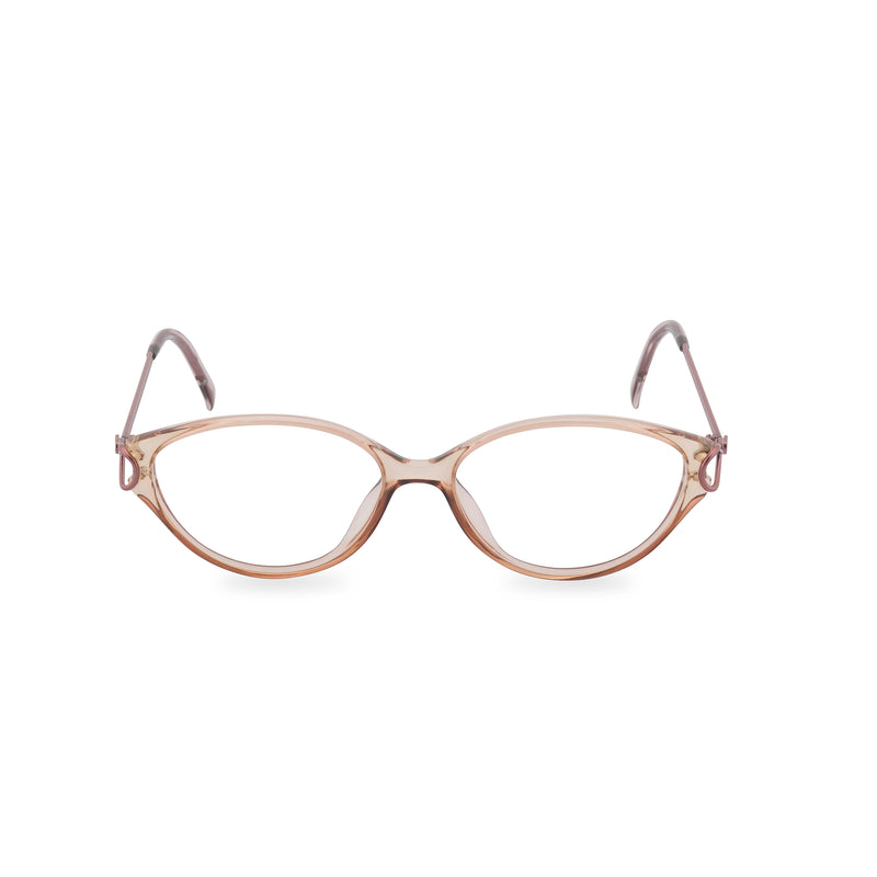 Dior Elegance Oval Glasses - Coffee Crystal