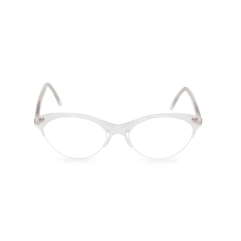 Gianfranco Ferre Miao Cat Eye Glasses - Crystal Ice