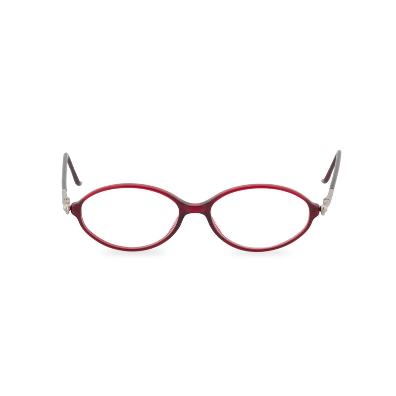Valentino Literati Oval Glasses - Wine