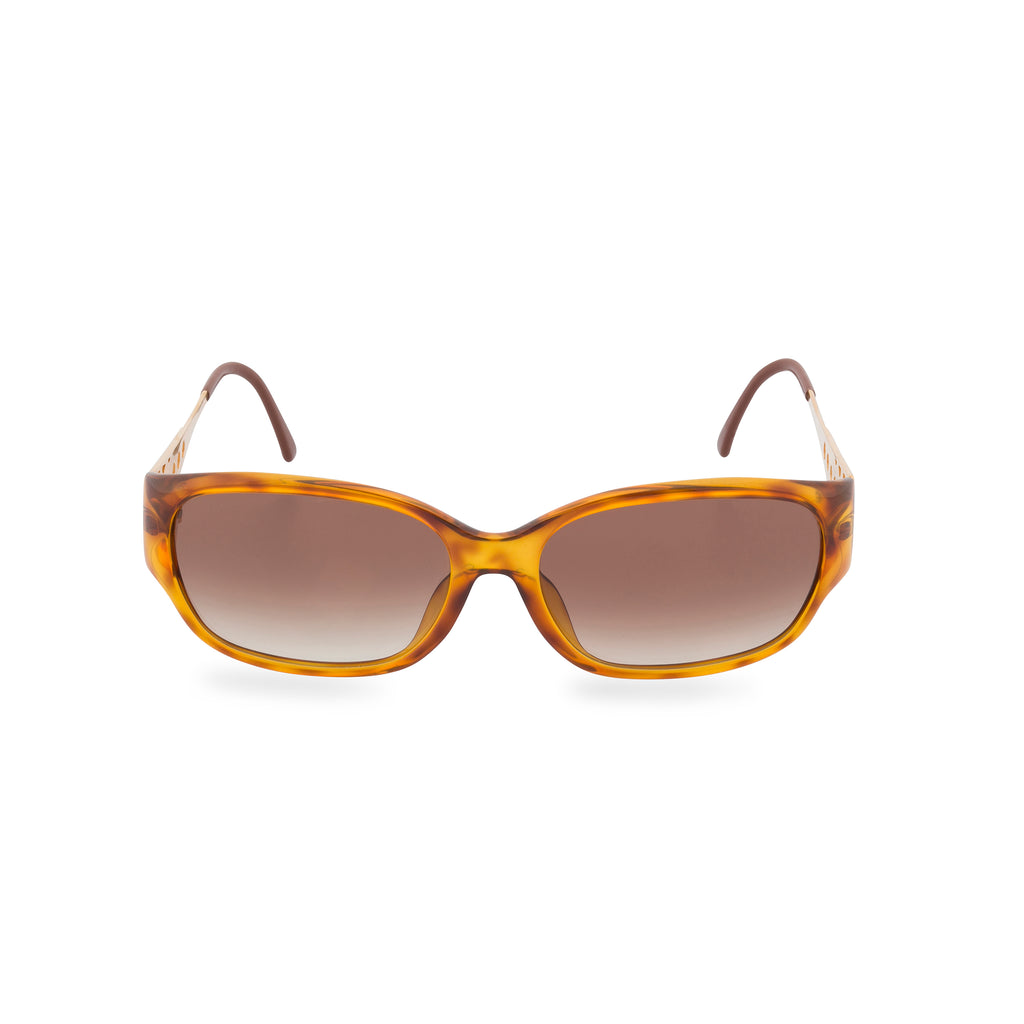 Dior 2767 - Rectangular Sunglasses Amber/Gold