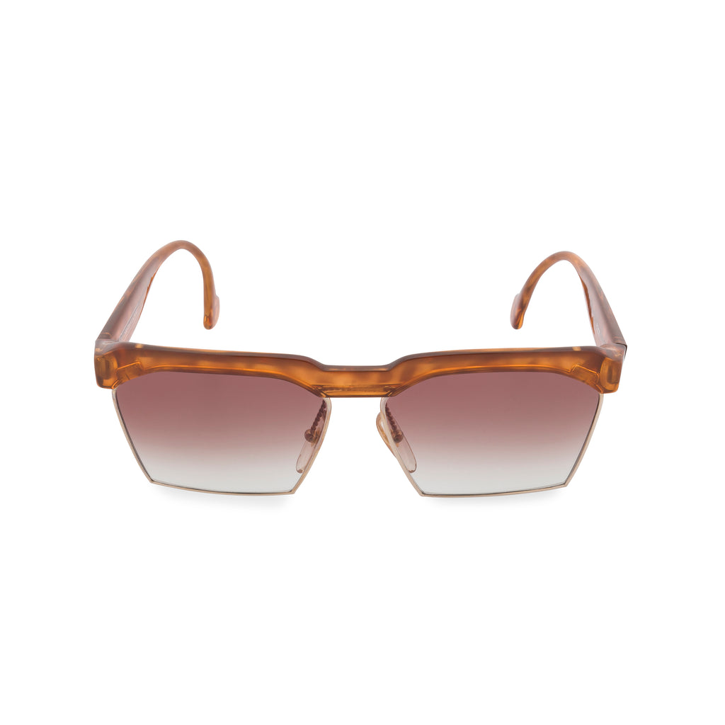 Lacroix 7318 - Rectangular Sunglasses Amber