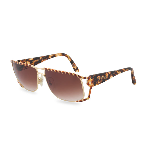 Maga 7342 T - Rectangular Sunglasses Tortoise Twist