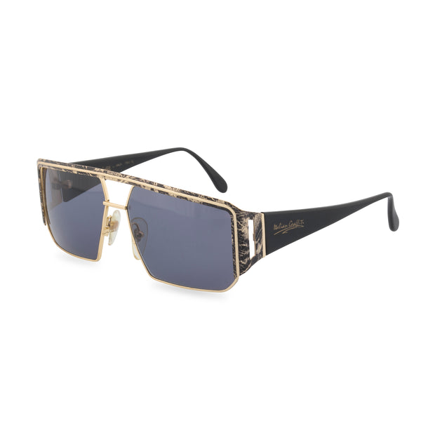 Maga 7341N - Sunglasses Gold Black Swirl