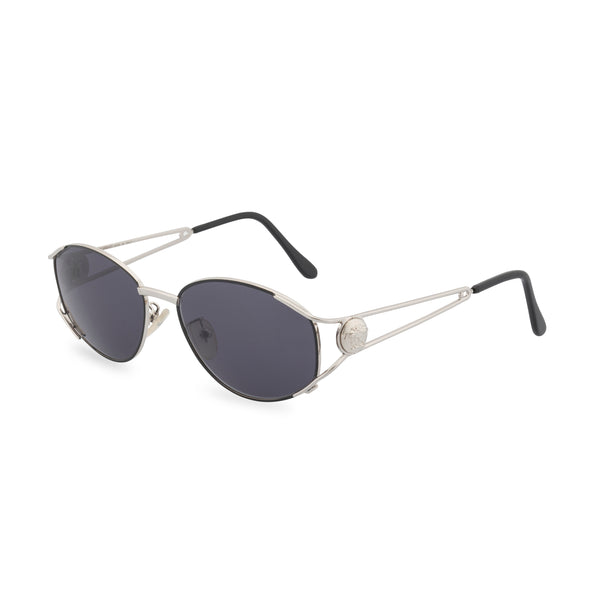 Versace G99 - Oval Sunglasses Silver