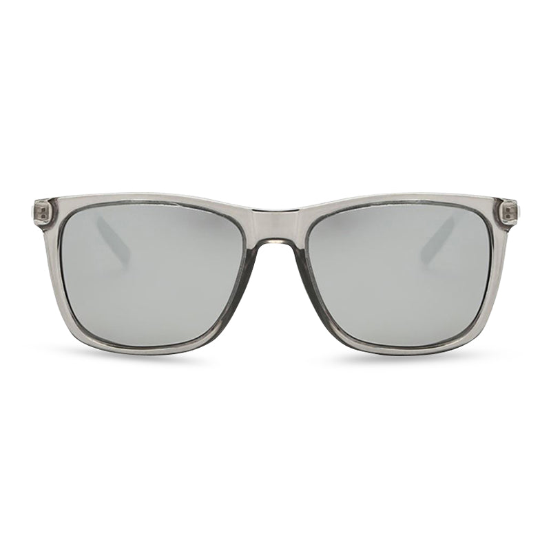 Watchman Square Sunglasses - Crystal Grey