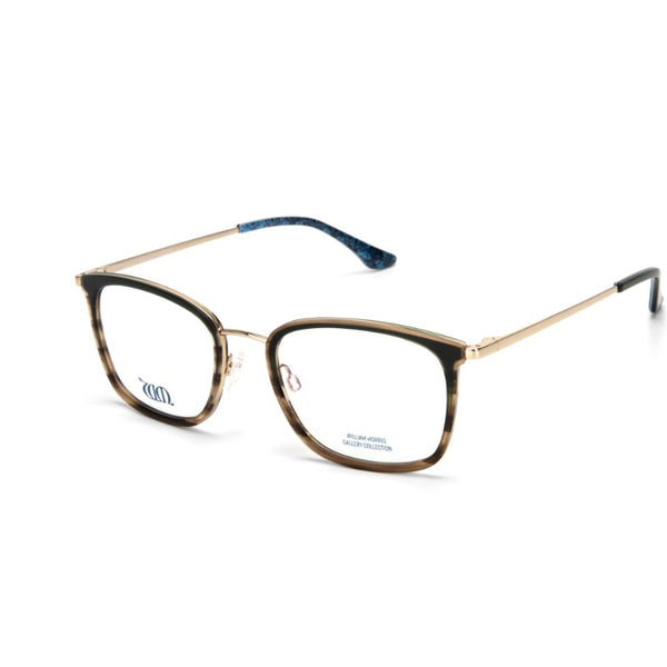 Brother Rabbit rectangular frames in green from the William Morris Gallery Collection, side view