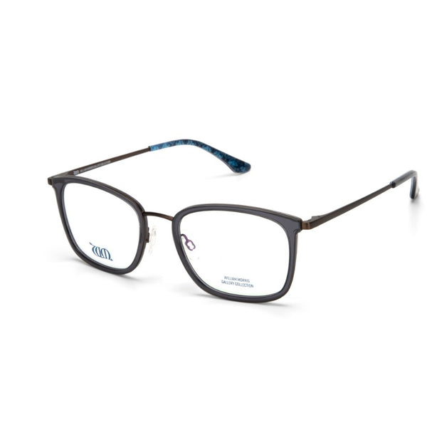 Brother Rabbit rectangular frames in grey from the William Morris Gallery Collection, side view