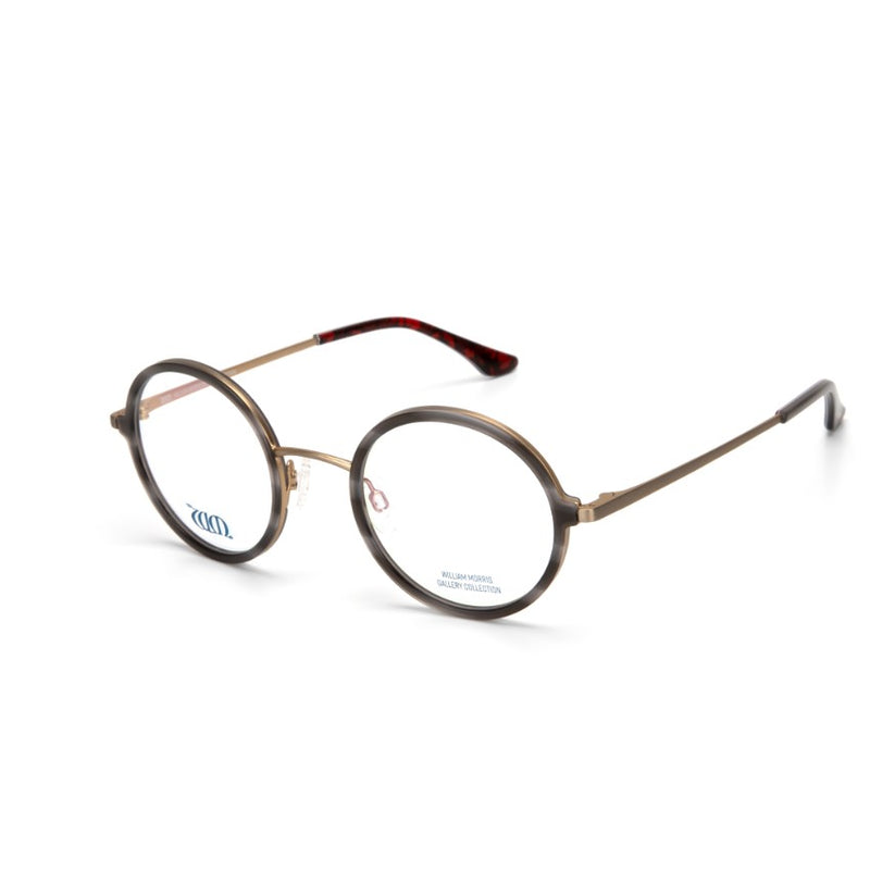 William Morris Gallery Round Glasses - Poppy Grey