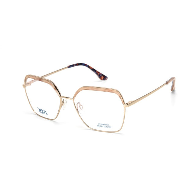 Strawberry Thief square frames in cream from the William Morris Gallery Collection, side views