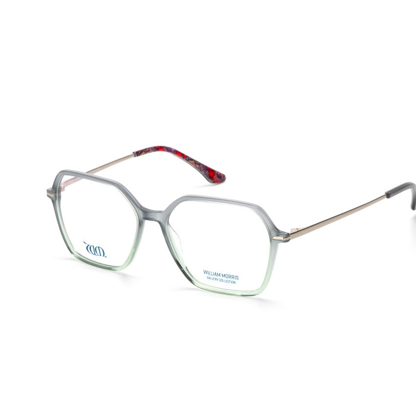 Crystal green grey square Wandle frames from the William Morris Gallery Collection