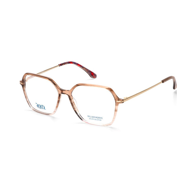 Wandle in crystal brown acetate from the William Morris Gallery Collection, side view