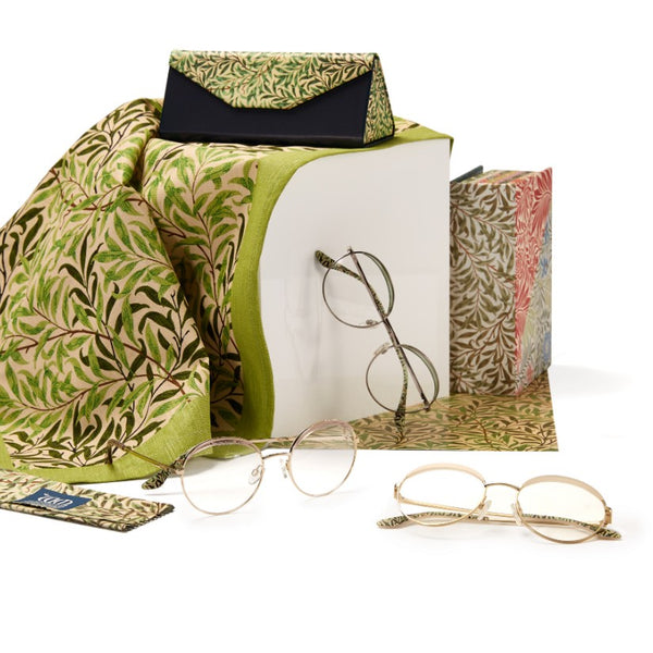 Willow Bough range of frames, matching cases and cloths from the William Morris Gallery Collection