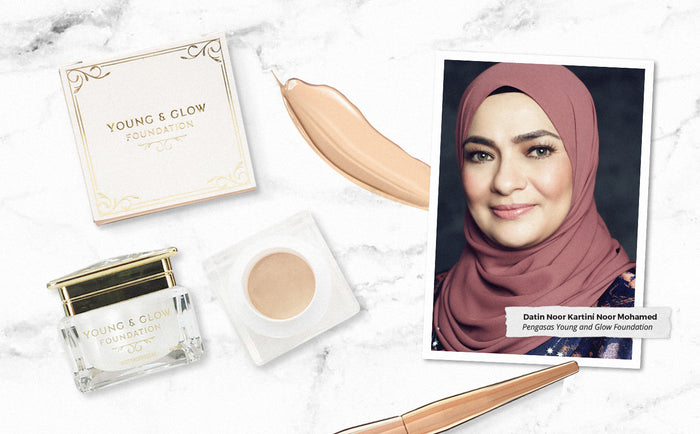 _YOUNG AND GLOW FOUNDATION