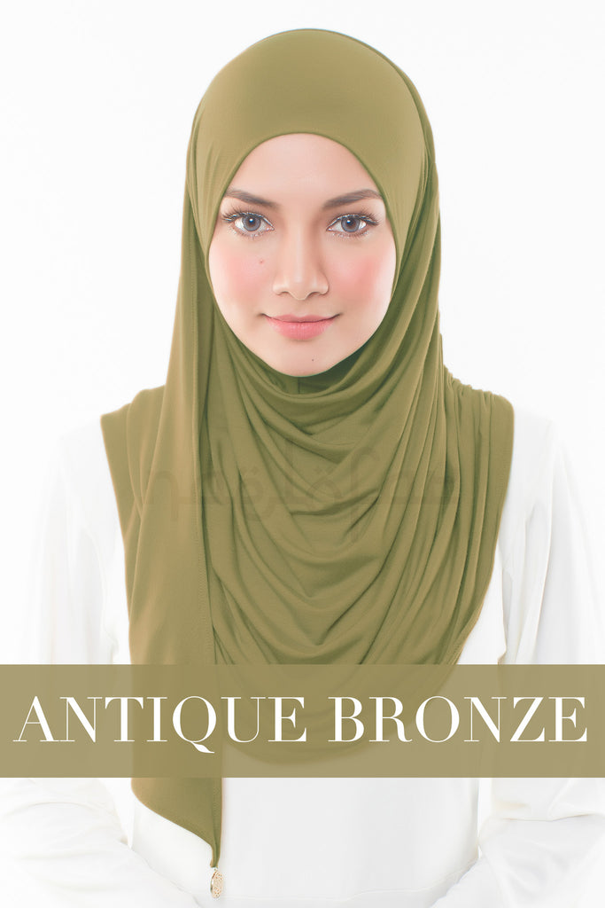 BABES & BASIC - ANTIQUE BRONZE