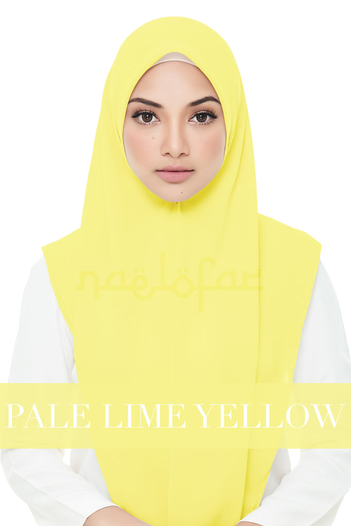 YASMINE - PALE LIME YELLOW