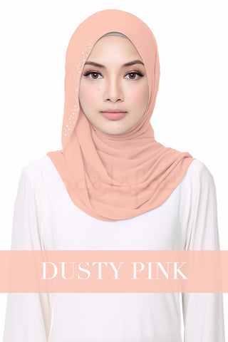 FLUFFY HELENA - DUSTY PINK