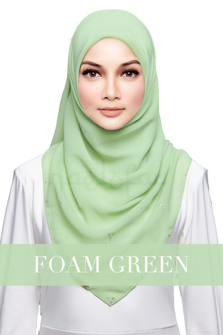 HAJAR - FOAM GREEN