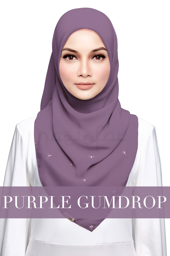 HAJAR - PURPLE GUMDROP