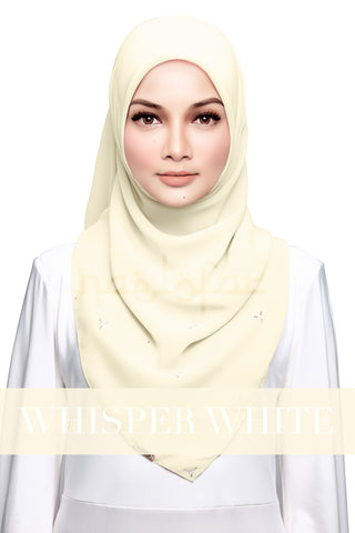 HAJAR - WHISPER WHITE