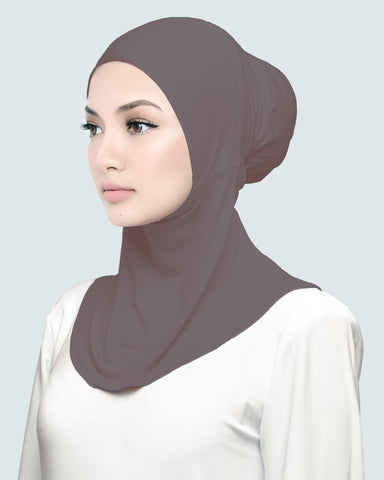 INNER NECK - MEDIUM BROWN MAUVE