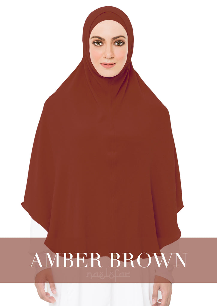 KHIMAR MARYAM - AMBER BROWN