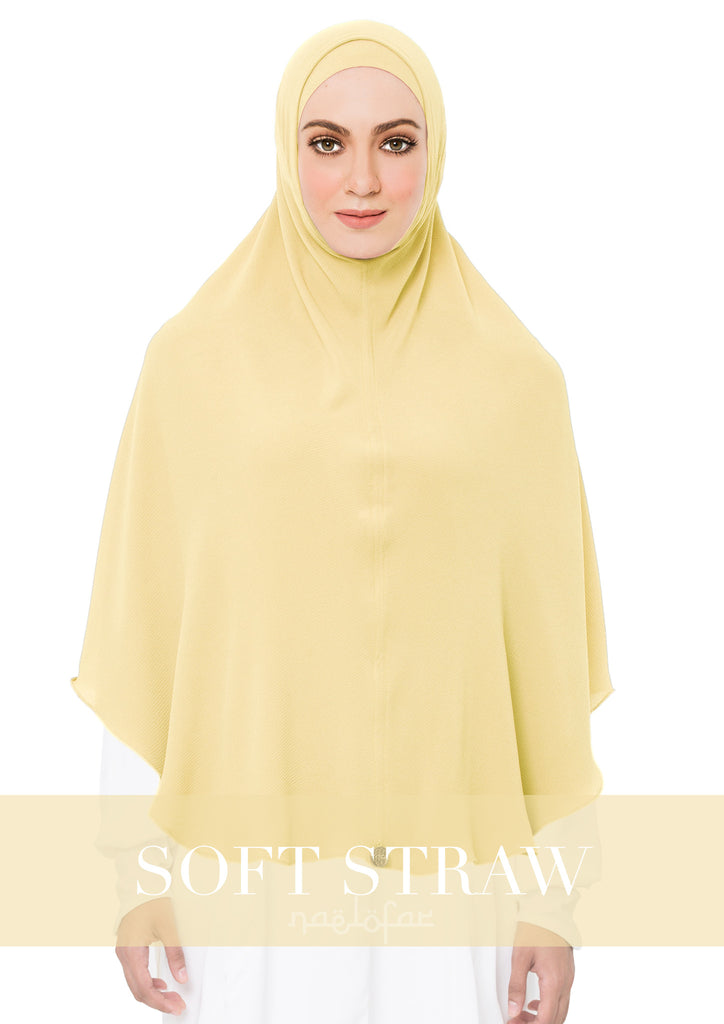 KHIMAR MARYAM - SOFT STRAW