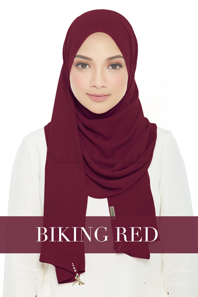 LADY LOFA - BIKING RED