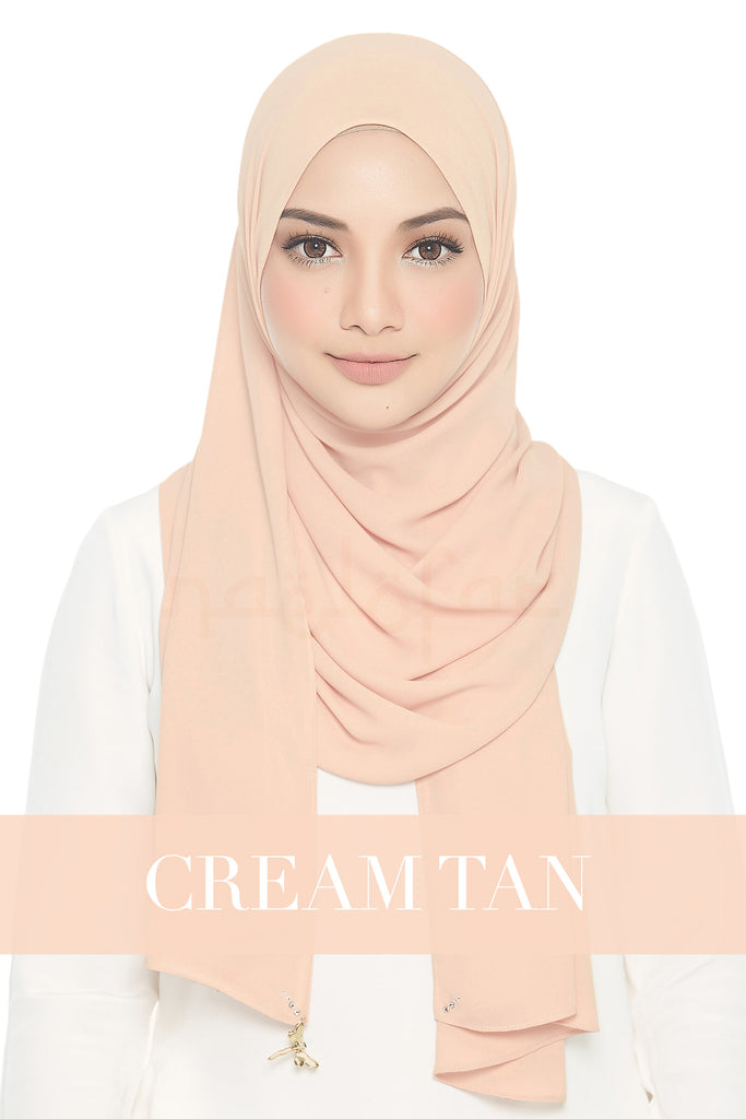 LADY LOFA - CREAM TAN