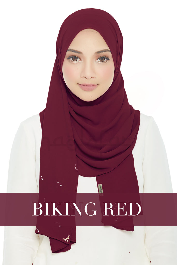 LADY LOFA LUXE - BIKING RED