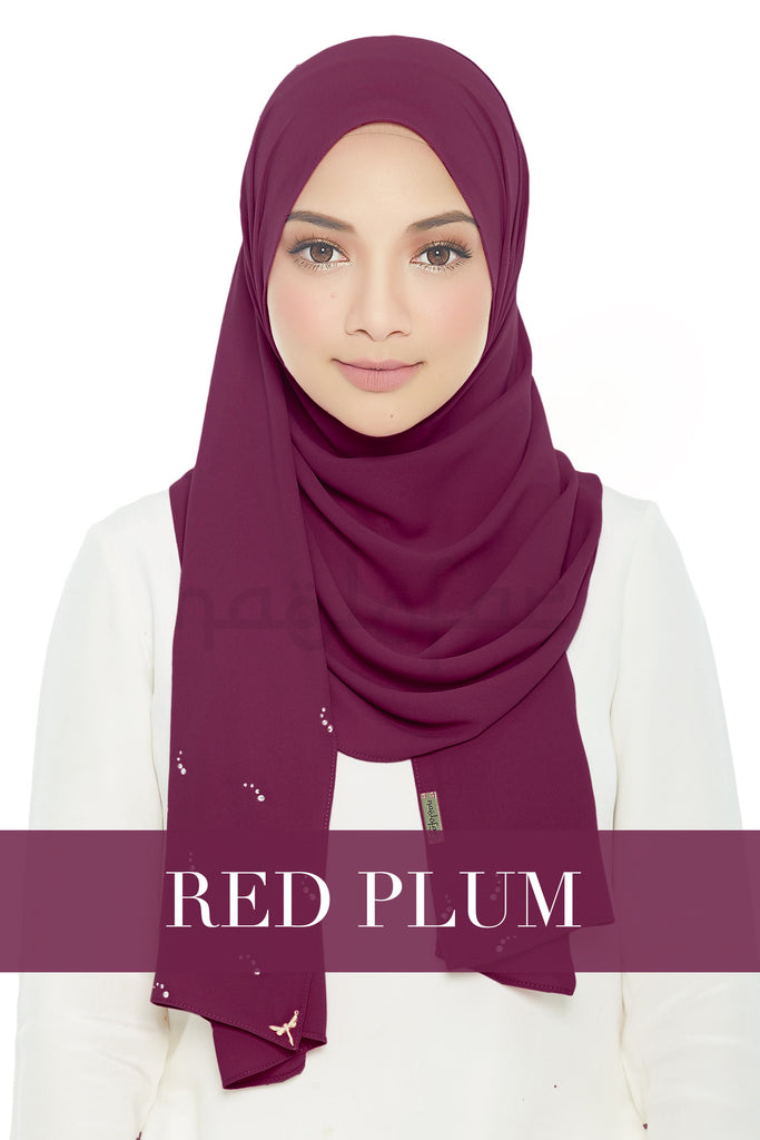 LADY LOFA LUXE - RED PLUM