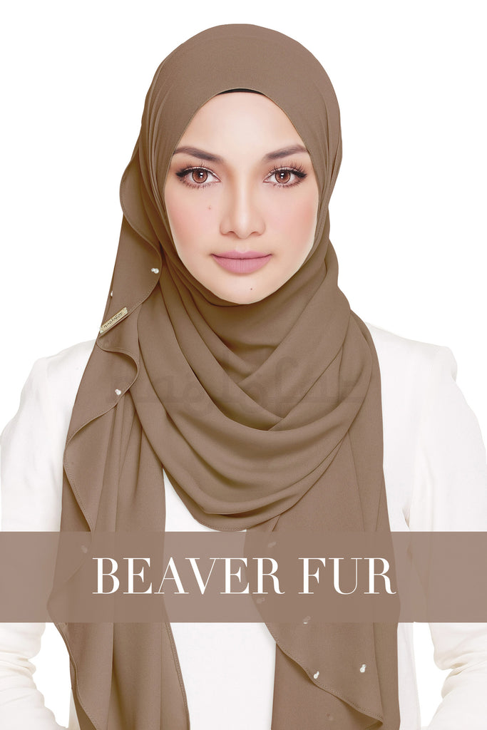 LADY WARDA - BEAVER FUR