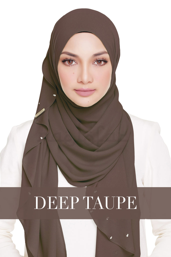 LADY WARDA - DEEP TAUPE