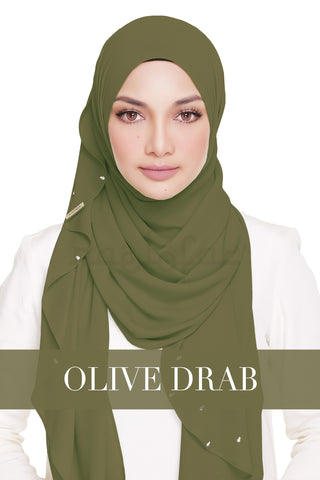 LADY WARDA - OLIVE DRAB