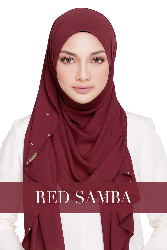 LADY WARDA - RED SAMBA