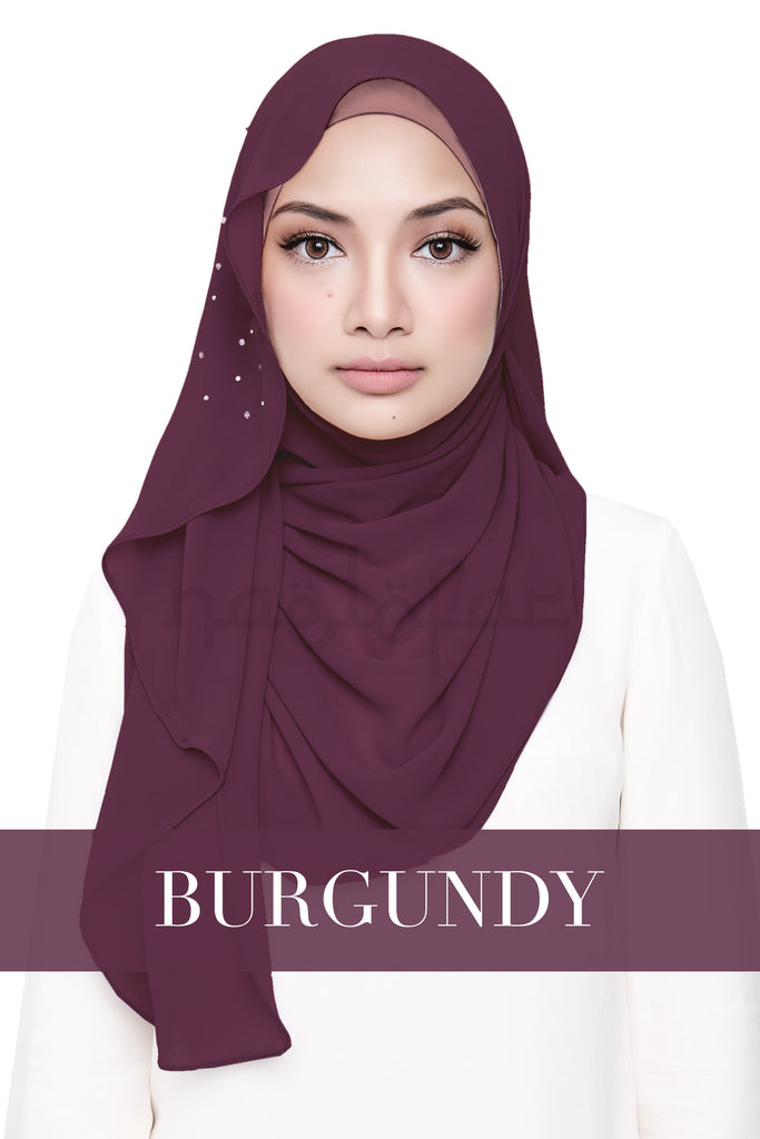 LATIFFA NEW EDITION - BURGUNDY