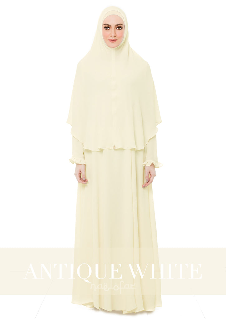 MARYAM MECCA - ANTIQUE WHITE