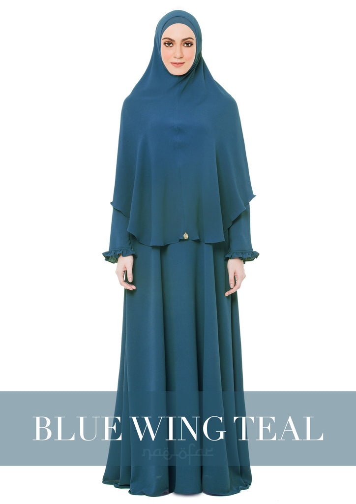 MARYAM MECCA - BLUE WING TEAL