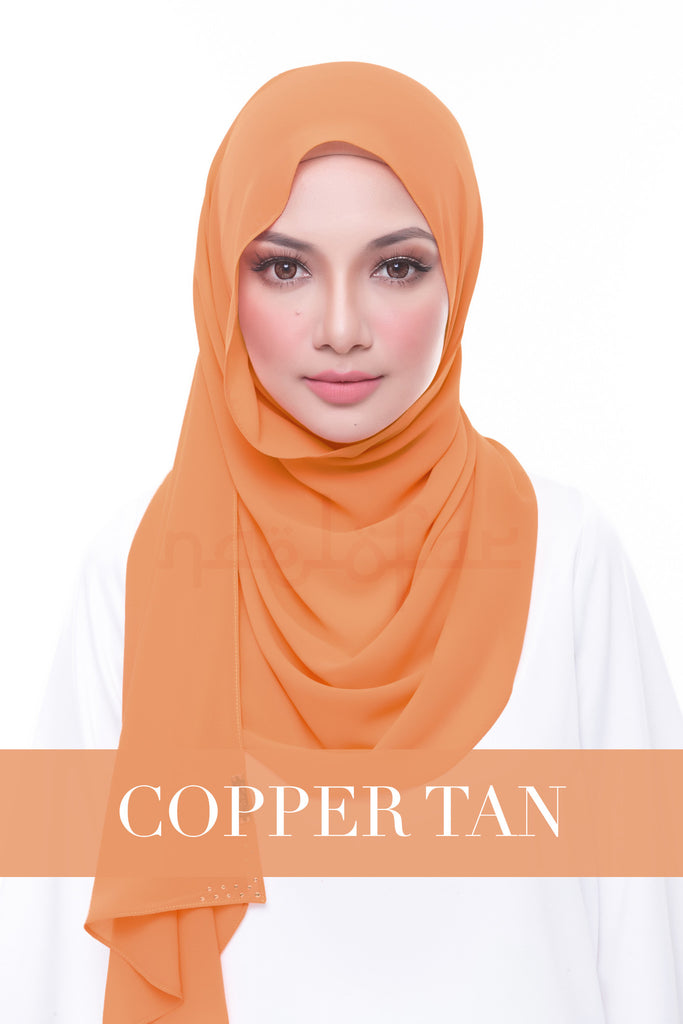 MISS LOFA PLAIN - COPPER TAN