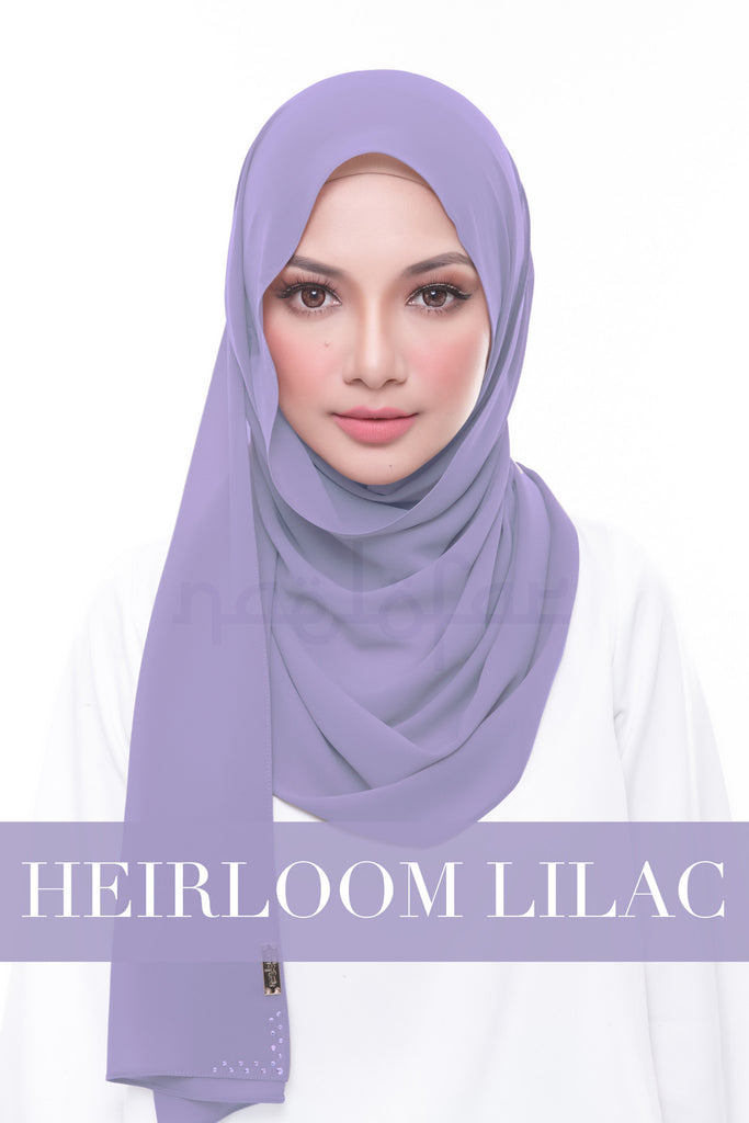 MISS LOFA PLAIN - HEIRLOOM LILAC