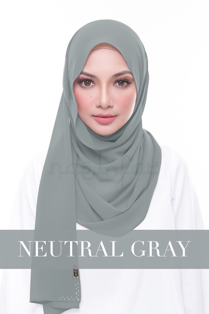 MISS LOFA PLAIN - NEUTRAL GRAY
