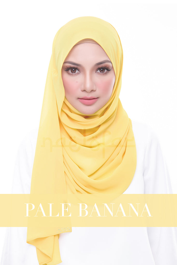 MISS LOFA PLAIN - PALE BANANA