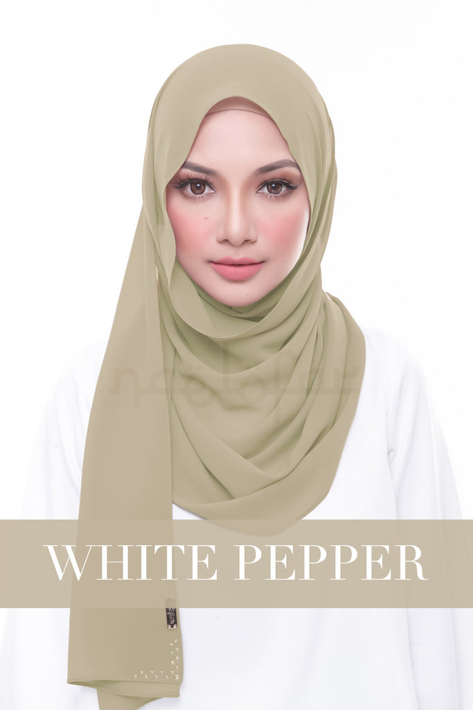 MISS LOFA PLAIN - WHITE PEPPER
