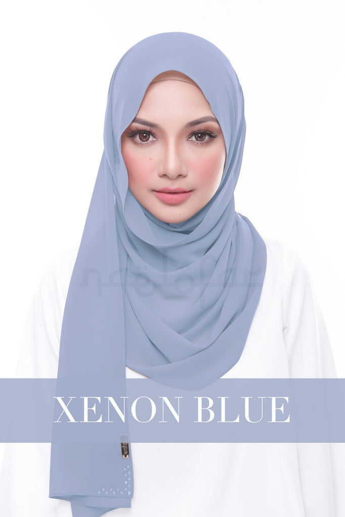 MISS LOFA PLAIN - XENON BLUE
